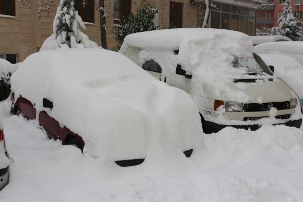 Konya'da son 14 yılın en yoğun kar yağışı