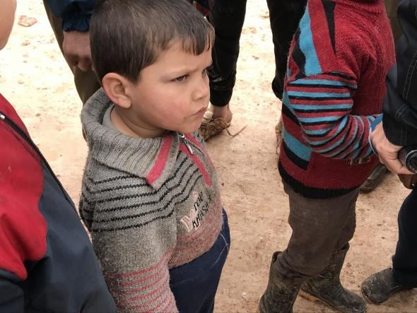 Suriye'de varılan ateşkese İdlib'e gelen sivillerden destek