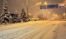 Türkiye'den kar tatili manzaraları