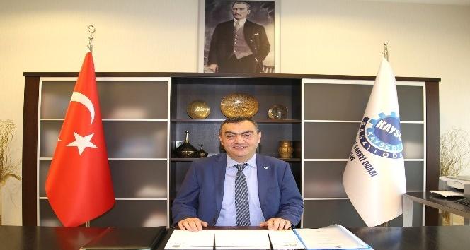 KAYSO Başkanı Mehmet Büyüksimitci'den yeni yıl mesajı