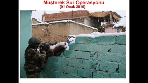 PKK'lı teröristlerden Sur'da Kobani taktiği