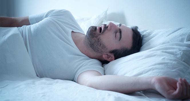 'Horluyorsanız uyku apnesi de yaşıyor olabilirsiniz'