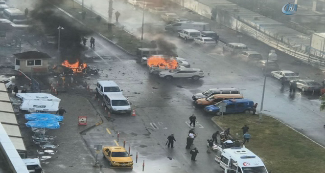 Son dakika: İzmirde patlama, İzmirde terör saldırısı ... İşte ilk görüntüler...