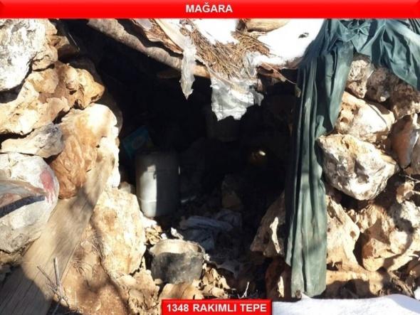 Gabar Dağı'ndaki operasyonun görüntüleri