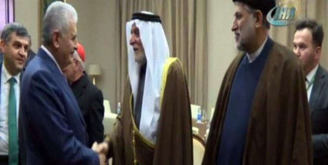 Başbakan Yıldırım, Erbil'de dini liderlerle görüştü