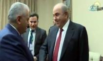 Başbakan Yıldırım, Irak Cumhurbaşkanı Yardımcısı ile görüştü