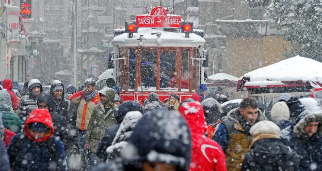 Meteorolojiden İstanbul için kar yağışı uyarısı