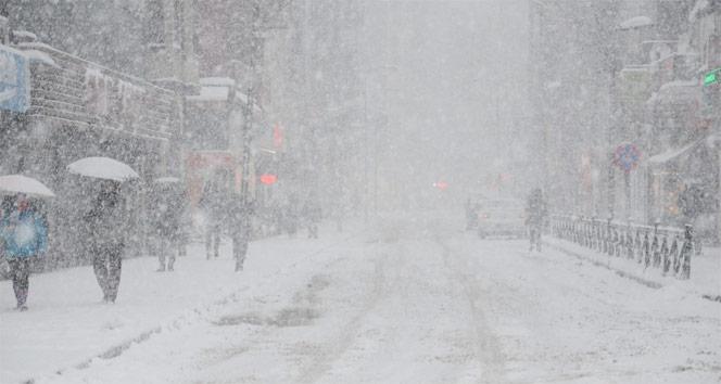 İstanbul'da  kar yağışı bekleniyor…