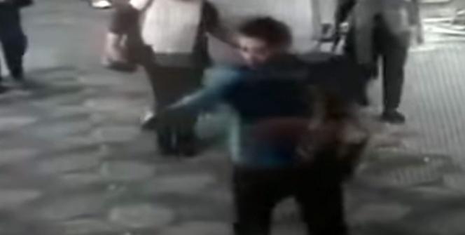 ABD'de 5 kişinin öldüğü saldırı kamerada