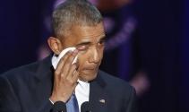 Obama'dan gözyaşları içinde veda konuşması