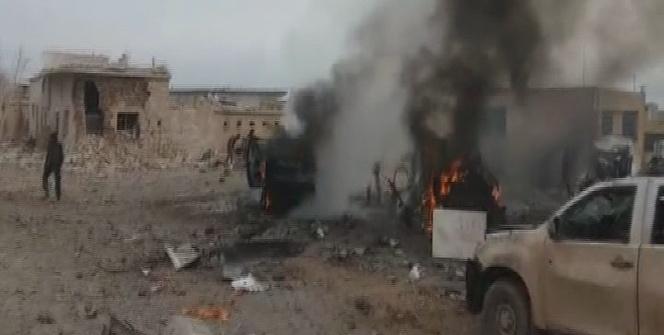 El Bab'da patlama! Onlarca ölü var...