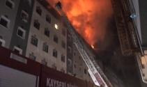 Kayseride belediye binasında yangın