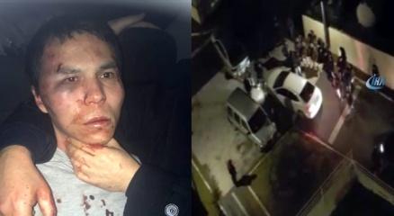 Reina saldırganı İstanbul Emniyetinde