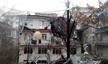 Ankara'daki doğalgaz patlaması güvenlik kamerasında