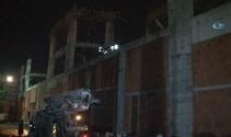 Antalyada inşaatta göçük: 5 işçi enkaz altında