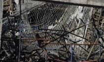 Antalyada çöken inşaatta çalışmalara ara verildi