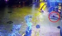 Cihangirde elektrik kaçağı köpeği öldürdü, sahibini yaraladı