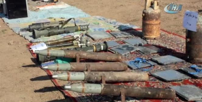 Irak Ordusu Musul'da DEAŞ'a ait mühimmatları temizliyor