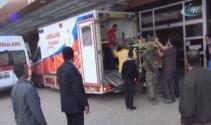 El Babda yaralanan 7 asker Kilise getirildi