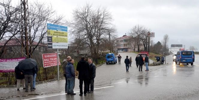 Giresun'daki cinayet anı güvenlik kameralarına yansıdı