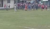 Sakaryada maç bitimi ile saha karıştı