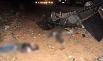 Düğün yolunda feci kaza: Baba ve 2 oğlu öldü