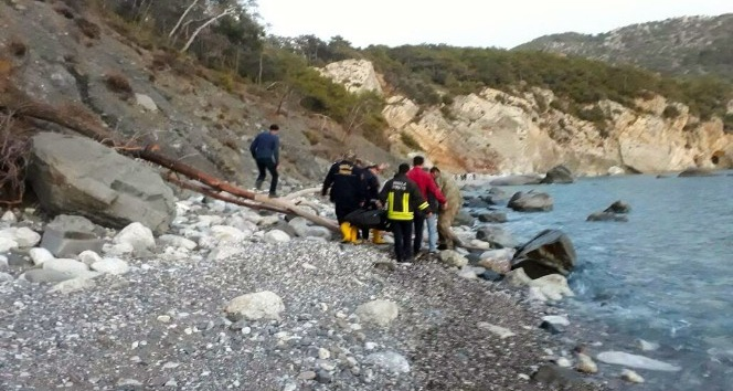 Dalaman'da sahilde kadın cesedi bulundu