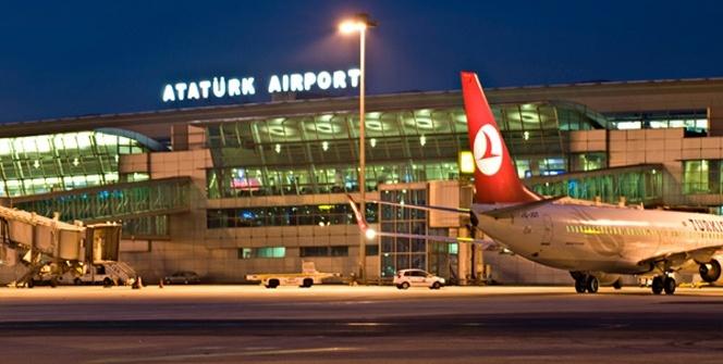 Atatürk Havalimanı'nda hareketli dakikalar! Yakalandı...