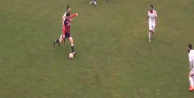 80 metreden gol attı, stat yıkıldı