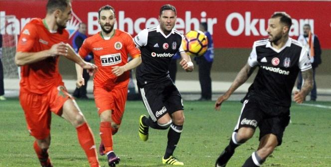 Aytemiz Alanyaspor Beşiktaş maçı foto özet