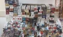 Şişli'de kaçak sigara operasyonu