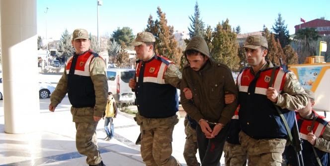 Bombalı eylem hazırlığındaki teröristler yakalandı