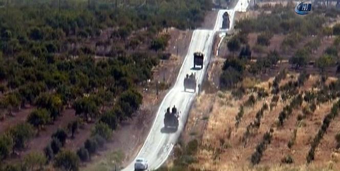 Cerablus'ta asayiş Türkiye'de eğitilen polislere emanet