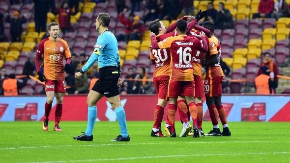 Galatasaray Erzincanspor maçı özel kareler