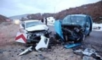 Tokatta trafik kazası: 9 yaralı