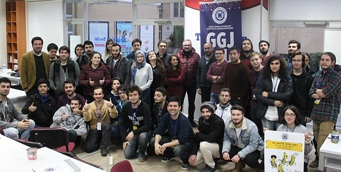 'Global Game Jam' Maratonu, İAÜ'de yapıldı