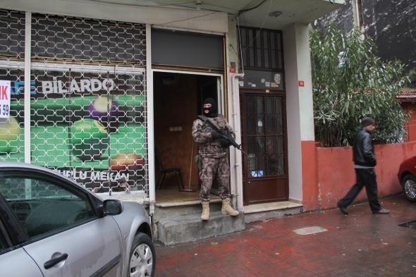 Okmeydanı'nda özel harekat destekli narkotik operasyonu