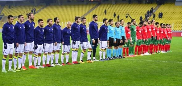 Fenerbahçe Amedspor maçı özel kareler