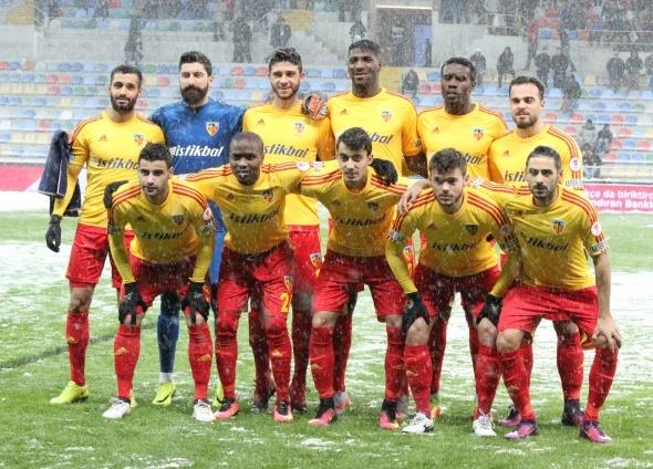 Kayserispor Beşiktaş maçı özel kareler