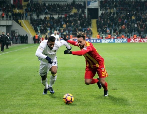 Kayserispor - Fenerbahçe: 4-1