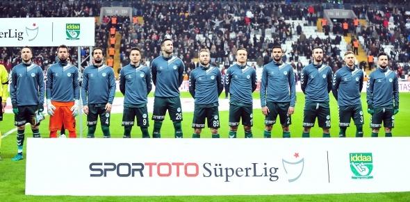 Beşiktaş Konyaspor maçından özel kareler
