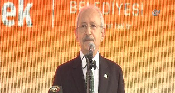 Kılıçdaroğlu Fethi Sekin Parkını açarak birlik mesajı verdi