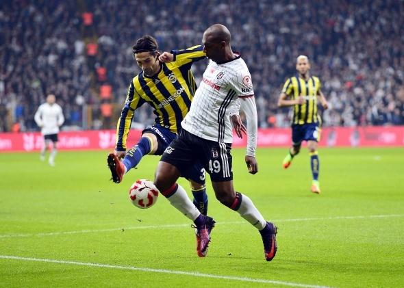 Beşiktaş Fenerbahçe maçı özel kareler