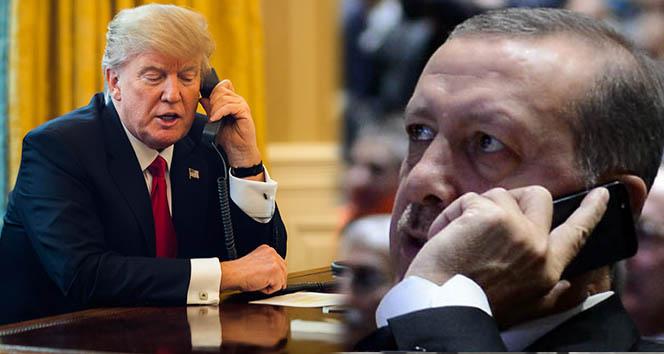 Cumhurbaşkanı Erdoğan Trump ile telefonda görüştü ile ilgili görsel sonucu