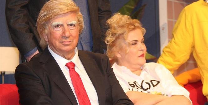 Donald Trump İstanbul'da sahneye çıktı
