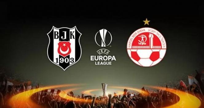 Hapoel Beer Sheva Beşiktaş maçı ne zaman nerede saat kaçta?