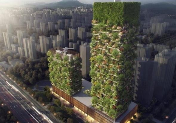 İnanılır gibi değil ama bu yapılar 'orman' gibi olacak