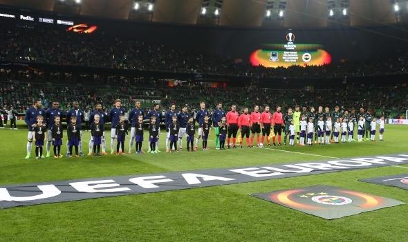 Krasnodar Fenerbahçe UEFA maçı özel kareler