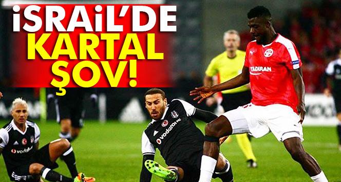 Hapoel Beer Sheva 1-3 Beşiktaş UEFA maçı geniş özet ve golleri izle