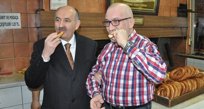 Bakan Müezzinoğlu Bursa esnafını ziyaret etti